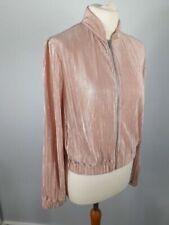 Zara Bomber Coats, Jackets & Waistcoats Silk Outer Shell for Women