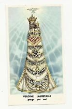 95561 SANTINO HOLY CARD Heiligenbildchen VERGINE LAURETANA