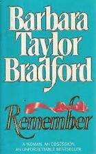Barbara Taylor Bradford~REMEMBER~SIGNED 1ST/DJ~NICE COPY