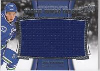JAKE VIRTANEN NO:RJJ-JV ROOKIE JUMBO FABRICS in UPPER DECK CONTOURS 2015-16   a