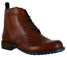 Mens Catesby Classic Leather Brogues Derby Ankle Lace Up Boots Sizes 7 to 12