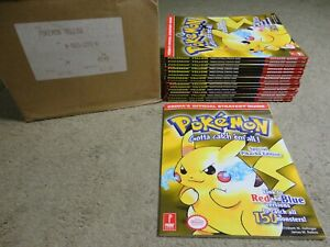 BRAND NEW Prima's Official strategy Guide for Pokemon Yellow Special Pikachu edt