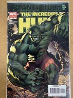 2006 The Incredible Hulk #92 Bryan Hitch Variant Cover Marvel Comics High Grade