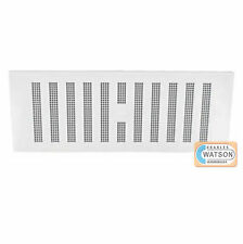 "9"" x 3"" WHITE HIT & MISS VENT Adjustable Air Ventilator Grille Cover Caravan"