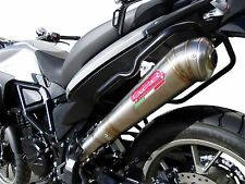 SILENCIEUX GPR POWERCONE INOX BMW F700 GS 2013/14