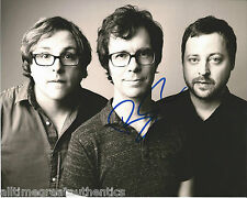 SINGER BEN FOLDS SIGNED 8X10 PHOTO W/COA FIVE ARMY BRICK SONG FOR THE DUMPED B