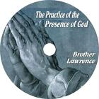 Practice of the Presence of God Brother Lawrence Christian Audio Book on 2 CDs