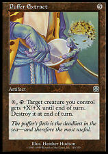 4x Puffer Extract Mercadian Masques MtG Magic Artifact Uncommon 4 x4 Card MP