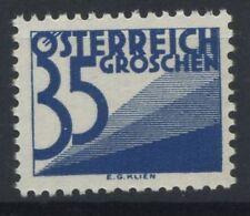 Austria 1925 Mi. 151 Nuovo ** 100% nuovi numeri di disegno Pacchi postali-