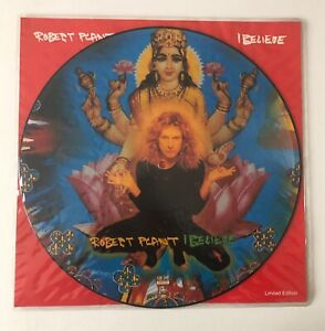 """RARE 12"""" PICTURE DISC LIMITED EDITION FONTANA UK FATE 212 ROBERT PLANT I BELIEVE"""
