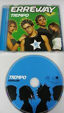 ERREWAY TIEMPO CD 2006 SPANISH EDITION REBELDE WAY DESCATALOGADO!!!