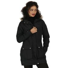 Regatta Womens Schima II Waterproof Insulated Coat 16 Black Rwp238 80016l