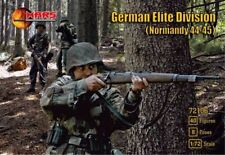Mars 1/72 Scale Plastic WWII Normandy Germans Soldiers Elite Set 72106 New!