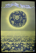 STEALERS WHEEL s/t 1972 US Original A&M Records PROMO POSTER Gerry Rafferty