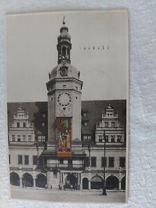 Leipzig Rathaus  I. WK Ehrenteppich 1916 - 26.6.1916 mit Sonderstempel