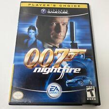 007: NightFire (Nintendo GameCube 2002) Complete In Box W/ Manual Free Shipping