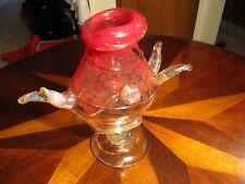 Wallace Art Glass Sculpture / Vase
