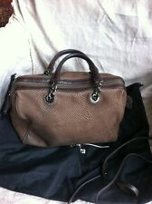 Sac MaxMara Weekend marron avec bandouliere amovible . dustbag