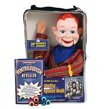 Bonus Bundle! Howdy Doody Ventriloquist Dummy Doll - New!