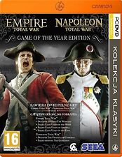 TOTAL WAR NAPOLEON EMPIRE GOTY / PKK / gra PC / PL / nowa / folia