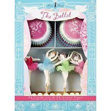 Meri meri ~ il Ballet Cupcake KIT ~ Cupcake Casi