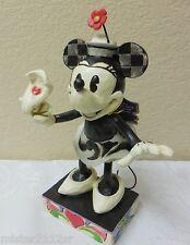 "Jim Shore ~ Disney Traditions ""YOO HOO"" MINNIE MOUSE Figurine 4043666"