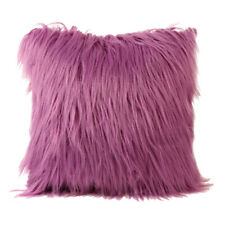 Plush Furry Cushions Cover Throw Pillow Case Home Bed Room Sofa Decor STOCK
