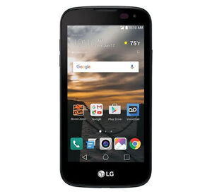 LG K3 LS450 - 8GB - Black (Virgin Mobile) prepaid Smartphone