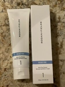 Rodan + and Fields REDEFINE Daily Cleansing Clay Mask New Formula•Sealed In Box•