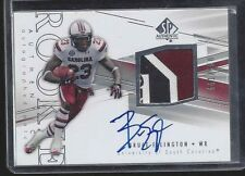 BRUCE ELLINGTON 2014 SP AUTHENTIC RPA SOUTH CAROLINA 3CL LOGO PATCH AUTO RC /550