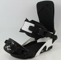 Ride LTD Snowboard Bindings Large Men's US Size 8-12 Black / White New 2020