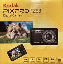 Kodak PIXPRO Fz53-bl Point-N-Shoot BLUE Digital Camera With 2.7 LCD PERFECT NEW!