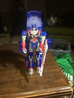2014 Transformers Hasbro Leader Class Optimus Prime Age of Extinction Figure