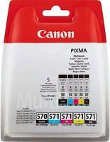 Original Canon PGI570 CLI571 Ink Cartridge Combo Pack For PIXMA MG7750 Printer