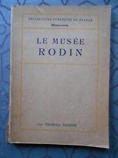 LE MUSEE RODIN PAR GEORGES GRAPPE - 44 ILLUSTRATIONS HORS TEXTE - ED. 1939