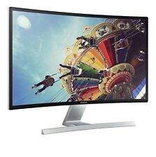 "SAMSUNG S27D590C 27"" FULL HD 1080P CURVED WIDESCREEN LED MONITOR HDMI SPEAKERS"