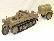 21st Century Toys 1/6 WWII German Halftrack Motorcycle w/ Trailer FC81