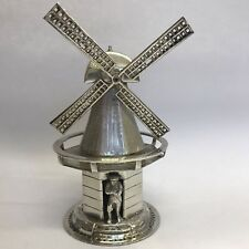 Fine Dutch Antique Solid Silver Miniature Windmill Child's Toy A/F