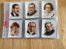 More details for wills - famous british authors cards from1937 near full set ,missing 9,11,39,40