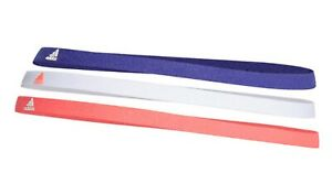 Adidas Unisex Hair-Band 3PP Headband Running Purple White Casual Bands GS2119