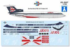 Revaro Decal HS-121 Trident 1E British European Airways Veb Plasticart 1/100