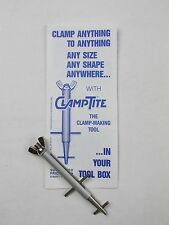 CLAMPTITE CLT03 Stainless Steel/Aluminum Professional Clamp Making Tool USA
