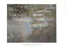 "Nympheas, 1903 by Claude Monet - 36 X 48"" - Fine Art Poster."