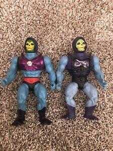 MOTU Masters of the Universe Vintage 1986 Terror Claws Skeletor + Battle Armor