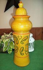 Mid Century 50-60s Modern ROSENTHAL NETTER Italian Art Pottery Vase/Jar Bitossi