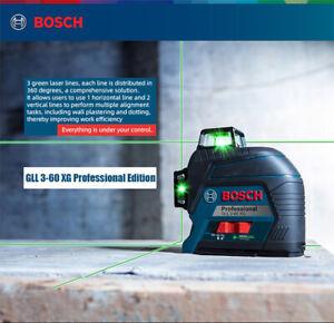 Bosch GLL3-60XG Laser Level 360 Degree High Precision Green Light 12 Line Level