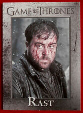 GAME OF THRONES - RAST - Season 3, Card #95 - Rittenhouse 2014