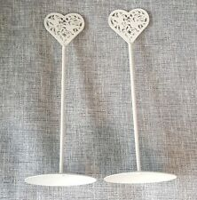 Photo / Memo Note/ Placecard Stand Holder Wedding etc. Set of two