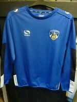 OLDHAM ATHLETIC AFC BLUE FOOTBALL SHIRT ADULT SIZE LARGE MADE BY SONDICO UNUSED