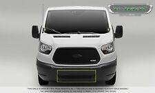 For 16-19 Ford Transit 150 250 350 350 HD Black Mild Steel Grille Overlay